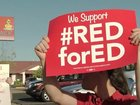 #RedforEd Day 5: Districts reopening schools