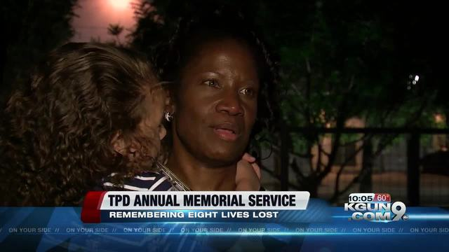 Memorial services held for fallen police officers