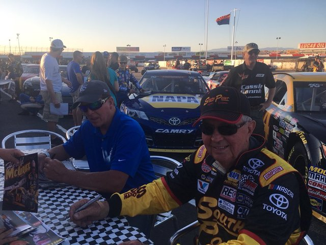 90-year-old becomes oldest driver to compete in NASCAR-sanctioned race