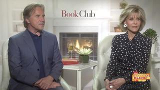 Jane Fonda and Don Johnson talk