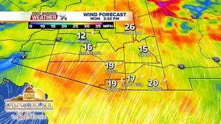 FORECAST: Wind increases over the next few days