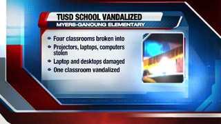 Police investigate elementary school vandalism