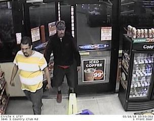 Deputies look for men who stole beer