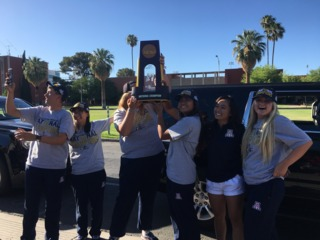 Arizona women's golf returns home as champions