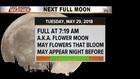 Full Flower Moon coming!