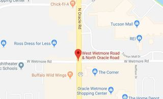 Crash shuts down Oracle and Wetmore intersection