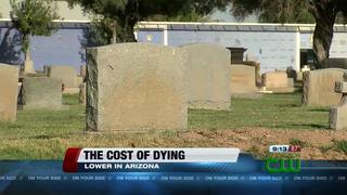 Dying in AZ may cost less than other states