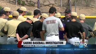 TUSD: Sabino baseball investigation underway