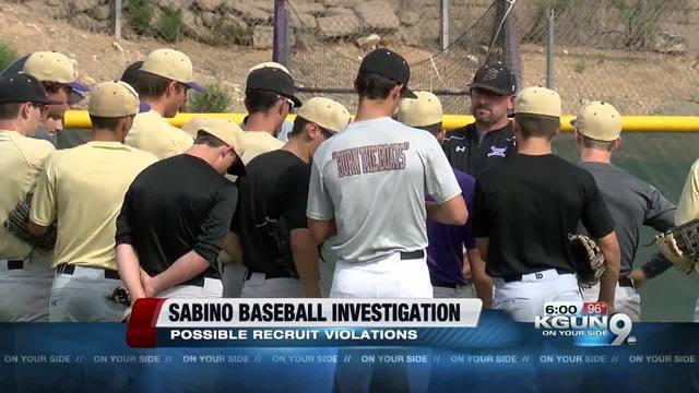 TUSD: Sabino baseball investigation underway