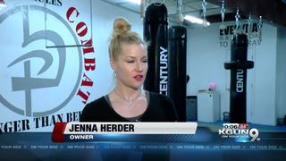 Self defense class prepares women to fight