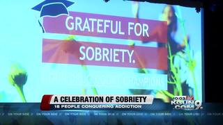 Pima County celebrates sobriety for 18 people