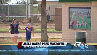 Jesse Owens Park makeover nearly complete