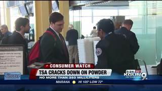 TSA cracks down on carry-on powders