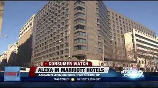 Alexa is your new butler at Marriott Hotels