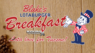 Blake's Lotaberger Lota Love For Tucson Contest