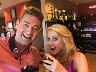 Wine tasting at Sonoita Vineyards