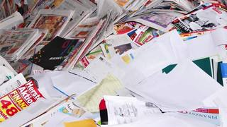 Organizing: Manage mountains of mail and paper