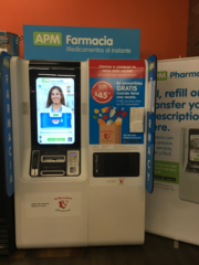 Pharmacy kiosk fills prescriptions in minutes