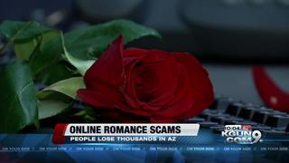 Online romance scams in Arizona
