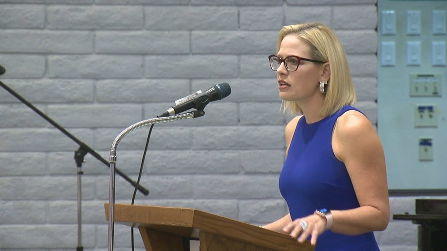 Sinema jumps ahead of McSally as counting continues