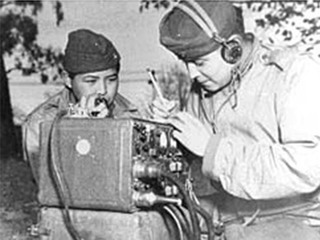 Officials celebrate the Navajo Code Talkers