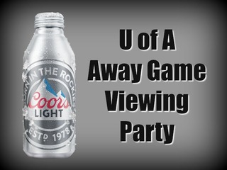 Coors Light Viewing Parties