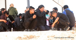 Yuma BP apprehends 188 migrants in 48 hours