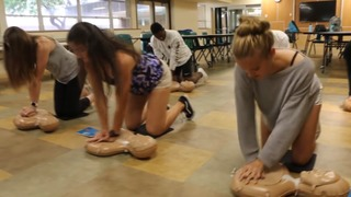 H.S. students must be CPR certified in order...
