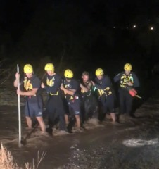 TFD rescues man stranded in Pantano Wash