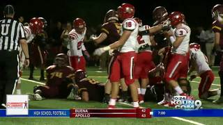 High School Football action on September 21st