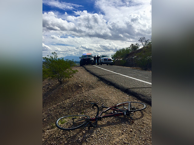 Bicyclist hit by car on 'A' Mountain dies