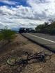 Cyclist killed by