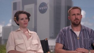 Ryan Gosling and Claire Foy talk