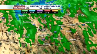 FORECAST: Showers to start off work week