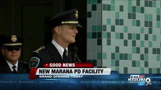 New police facility opens in Marana