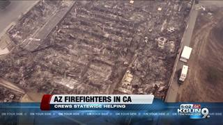 AZ firefighters helping fight California fires