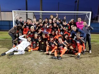 Pima College soccer wins national title